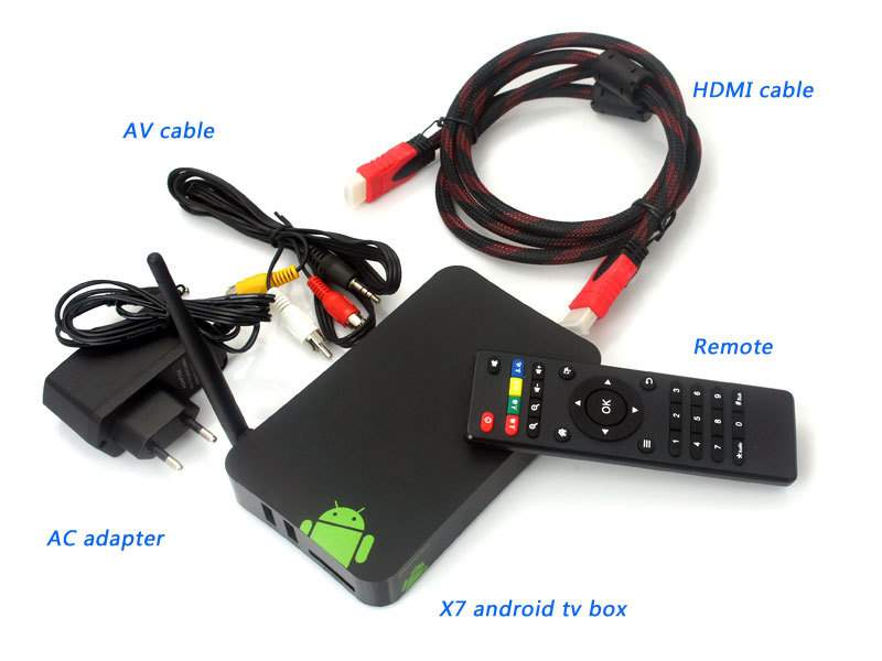 X7 A20 Dual Core Android Smart TV Box IPTV XBMC DLNA Media