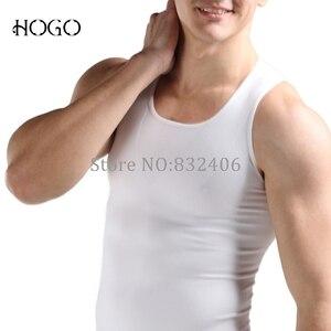 Image 4 - Man Body Shaper Slim Posture Correction Support Back Top Gynecomastia Shirt Corset Tummy Trimmer Underwear tank Vest Undershirt