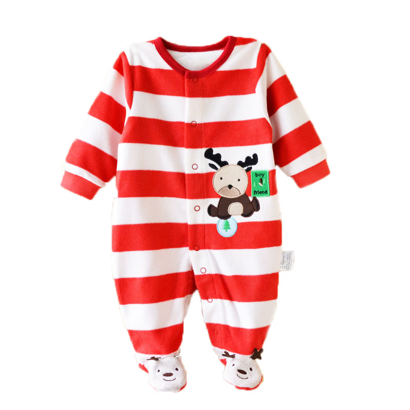 ed36074168d86 Newborn Baby Boy Girl Romper Clothes Stiped Long Sleeve jumpsuit Cute  comfortable clothing for new born babies girl boy clothes ~ Perfect Sale  April 2019