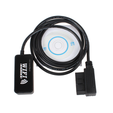 Auto Scan Tool OBD 2 Car Wifi Diagnostic Interface Scanner Black Scan Tool Code Reader