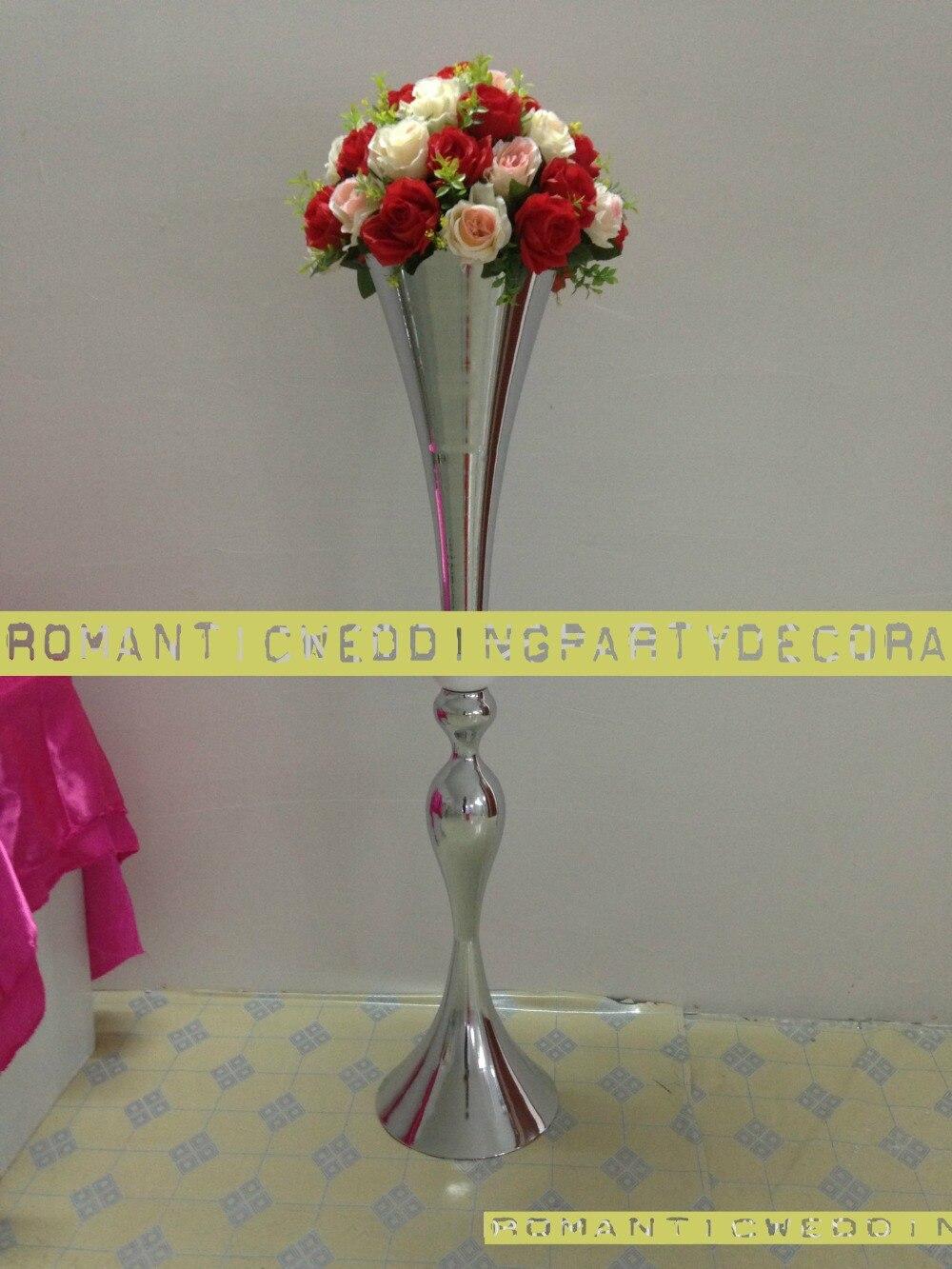 Cm quot tall wedding road lead flower shelf table