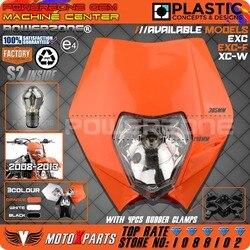 POWERZONE Far KTM SX EXC XCW XCF SXF SMR Motosiklet Dirt Bike Motocross Supermoto Enduro Far Far Fairing