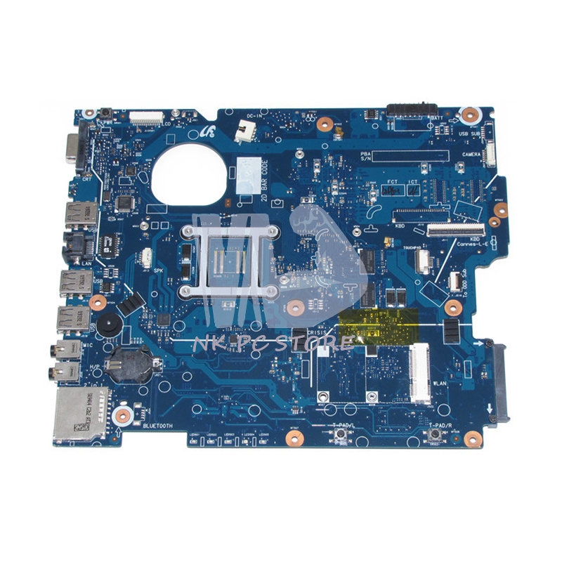 For Samsung R519 R719 Laptop Motherboard BA41-01148A BA92-05857A PM45 DDR2 Free CPU GT230M Video Card notebook motherboard for samsung np550 np550p5c n13p gt a2 gt650m ba92 09094a ba41 01898a tested ok free shipping