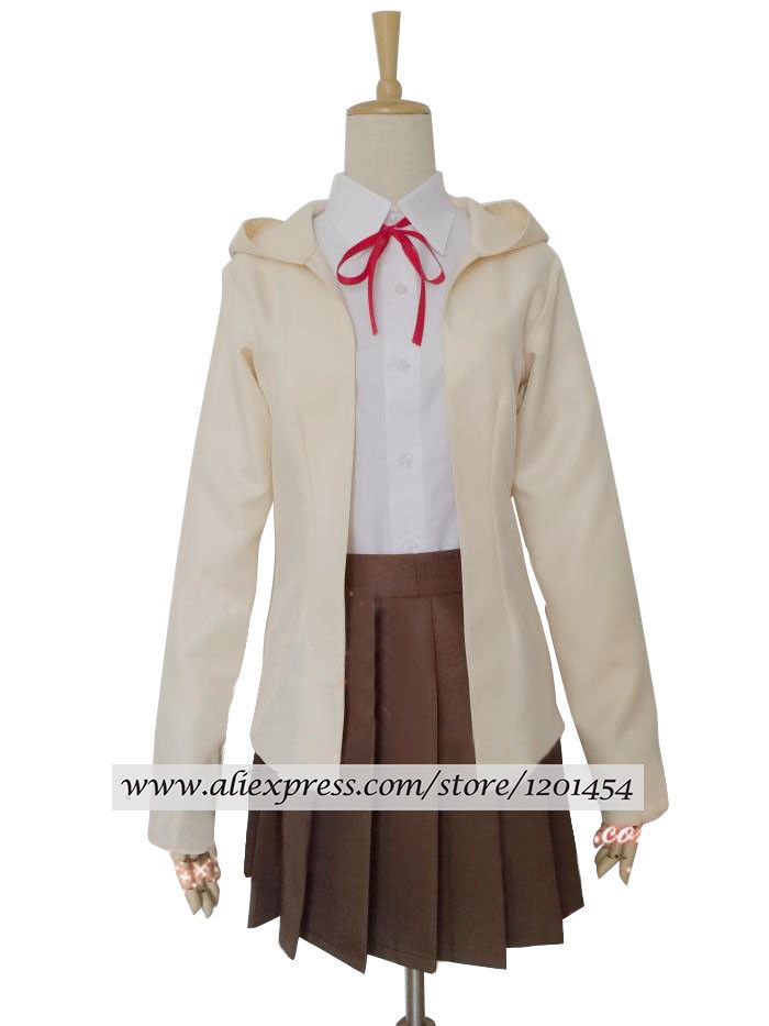 Danganronpa 3 Side Despair Nanami ChiaKi School Uniform Full Set Cosplay Costume