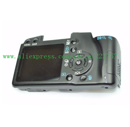 90%New back cover For Canon 1000D (Rebel XS / Kiss F Digital) Rear Cover With LCD Flex, SD Door90%New back cover For Canon 1000D (Rebel XS / Kiss F Digital) Rear Cover With LCD Flex, SD Door