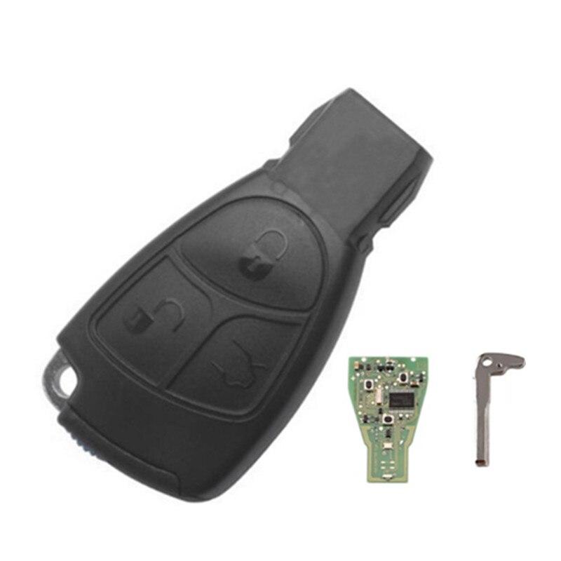 Wilongda Smart car key 3 Button Remote Ke y433mhz for benz auto key
