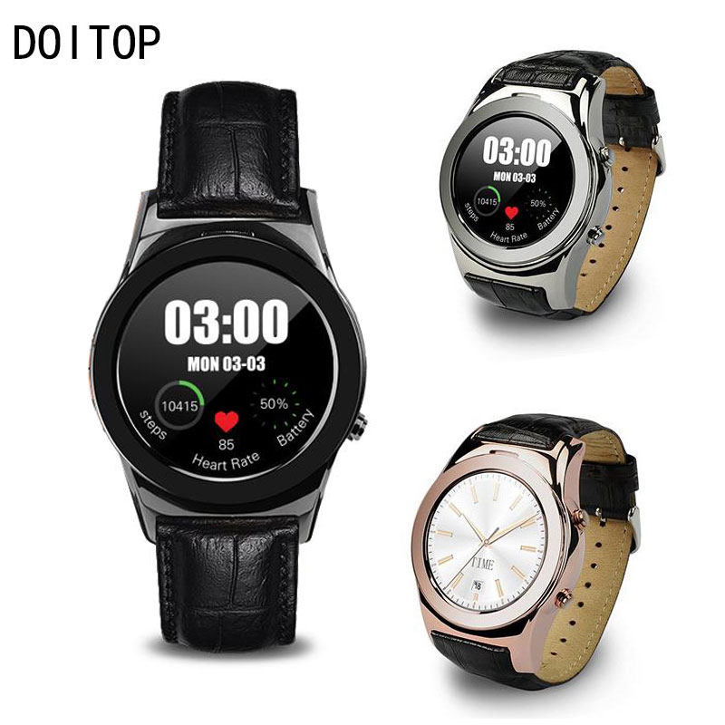 DOITOP LW01 Smart Watch Heart Rate Monitor Dial/Answer Call Smartwach Wristwatch Sleep Monitor Pedometer For IOS Android O4 цена