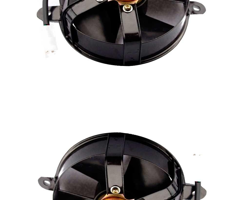 GOOFIT Radiator Cooling Fan for CG 200cc 250cc Vertial Engine Water Cooled ATV Quad Go-kart