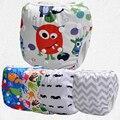 Producto del bebé, pañal de natación de verano, reutilizable, cubierta del pañal ajustable con colorful snaps (10 unids)