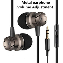 3.5mm Wired Handsfree Headsets In Ear phone Bass Earphone Earbuds with Mic Headp