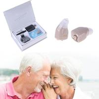 Mini Hearing Aid Portable Small Invisible Best Sound Amplifier Adjustable Tone Digital Sound Hearing Aids Device