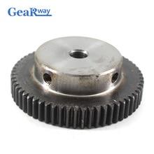 Gear Wheel Metal 1Module 60T 45Steel Spur Gear pinion 6/8/10
