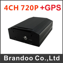 4CH 720P GPS Car DVR support Max. 2TB HDD/ 128GB SD card