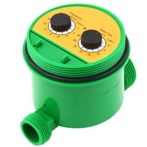 Electronic Watering Timer Plastic Solenoid Valve Garden Lawn Irrigation Sprinkler Controller BDF99