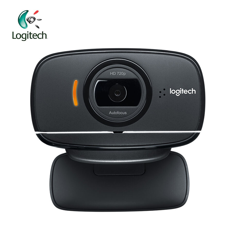 Logitech C525 HD Video Webcam with Autofocus 8MP Camera Built-in Microphone USB2.0 Support Official Test for Windows 10/8/7 a860 computer camera usb 360° rotatable pc webcam with built in mic