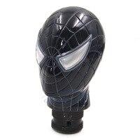 Carved Spider Man Universal Fit Car Auto Gear Stick Shift Lever Knob Black Car Accessories