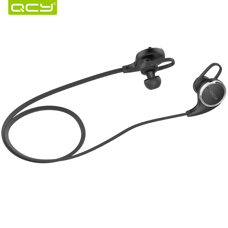 qcy qy8 wireless bluetooth headset sports headphones with mic stereo earbuds auriculares. Black Bedroom Furniture Sets. Home Design Ideas