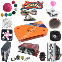 лучшая цена DIY Arcade Kit Pandora Box 4S 680 in 1 Jamma Multi Game Board Harness Coin Selector Joystick Button PartS for DIY Arcade machie