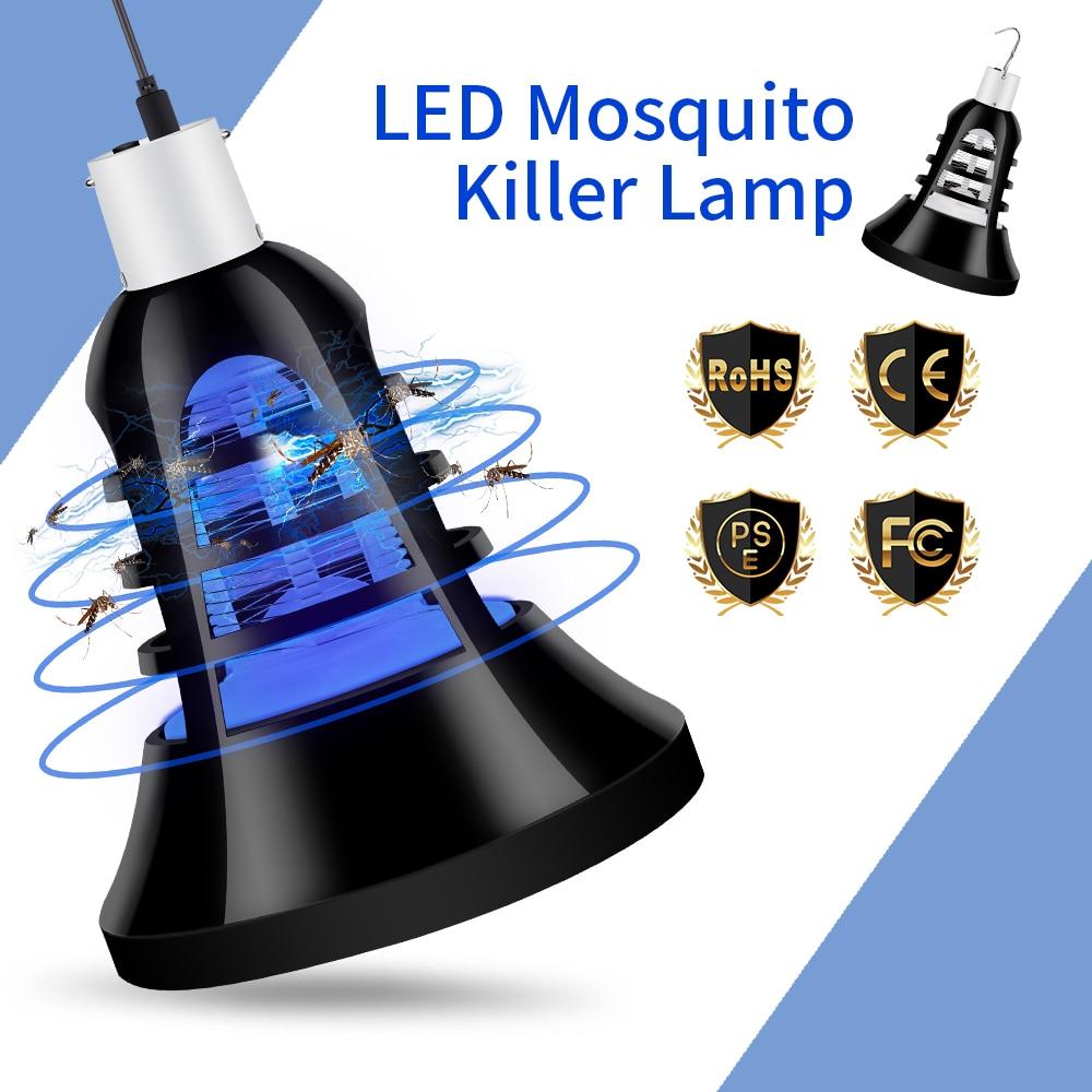 Lamparas Led E27 Anti Mosquito Bug Killer Lamp