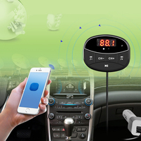 High Quality Car FM Transmitter Bluetooth HF MP3 Player Charger Kit Dual USB For Phones High