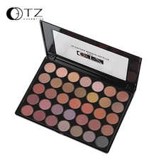 2016 Brand 35 Earth Colors Makeup Eyeshadow Palette Glitter Make Up naked Palette nk Metallic Shimmer Matte Eye Shadow Cosmetics