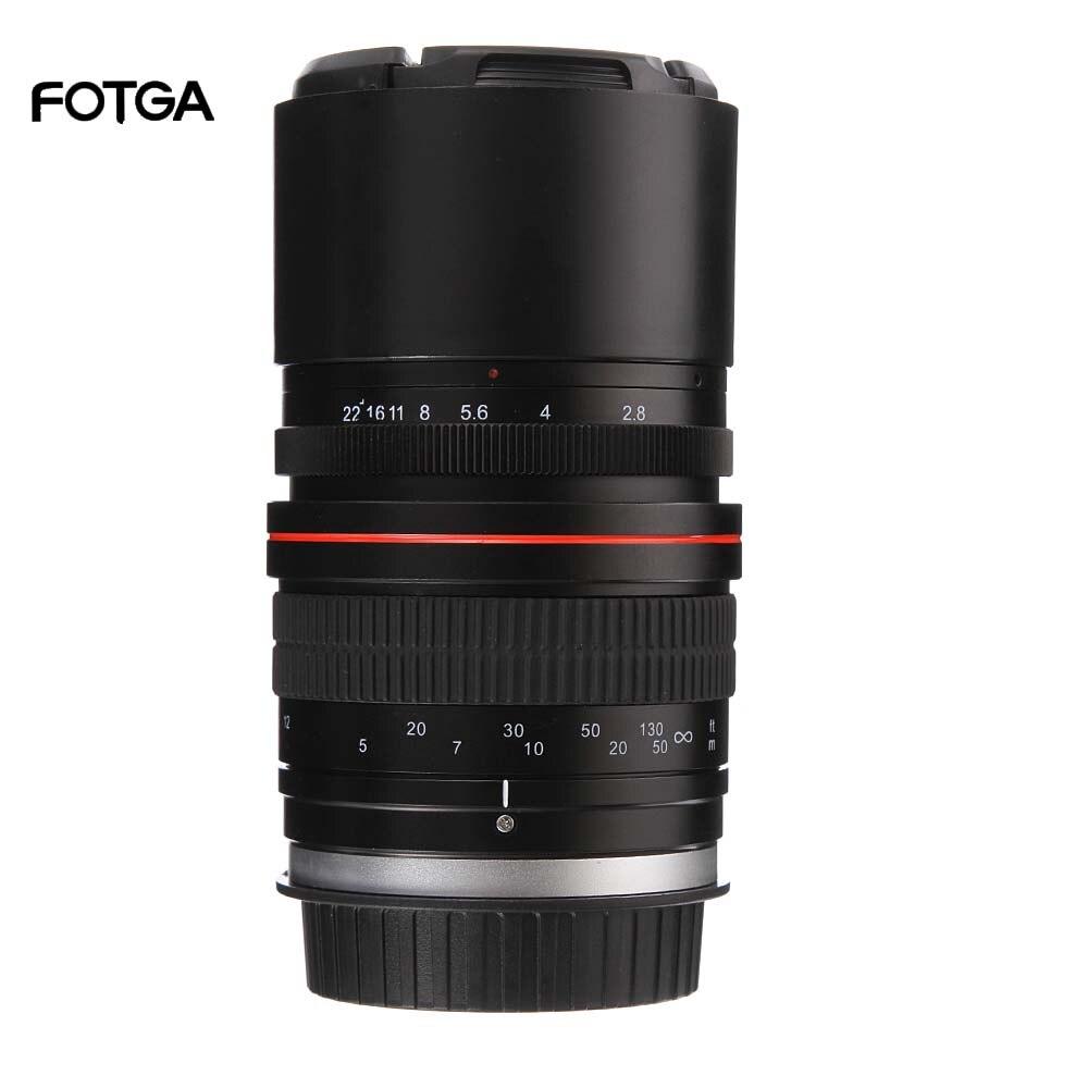 135mm F2.8 Full Frame Manual Focus Telephoto Prime Lens for Canon EOS 6D 6DII 7DII 70D 80D for Nikon D5300 D3400 D500 D600