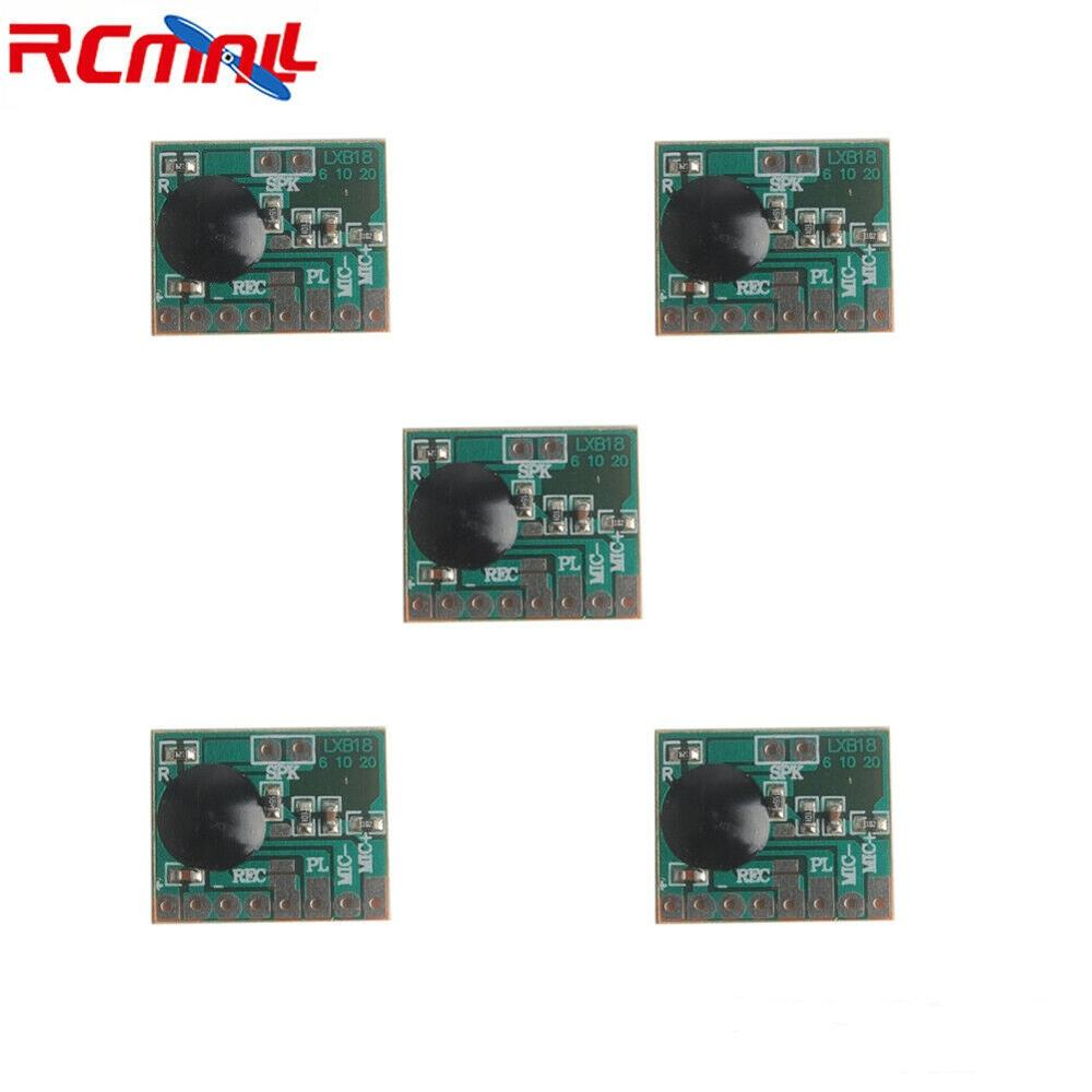 5Pcs/lot ISD1806 6S Sound Recordable Chip IC Voice Music Talking Recorder Module 8ohm Speaker For Electronic Gift Greeting Card