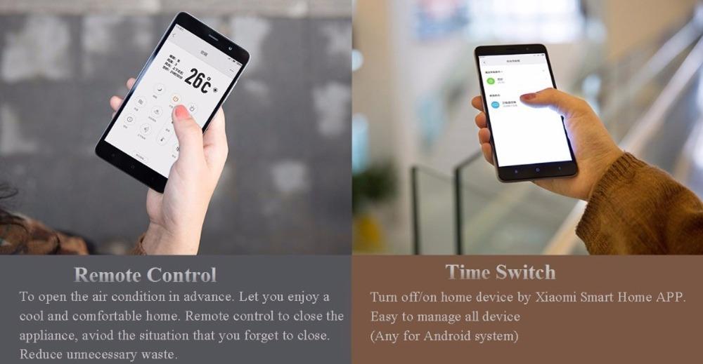 Xiaomi mi jia control remoto inteligente Universal WIFI 8