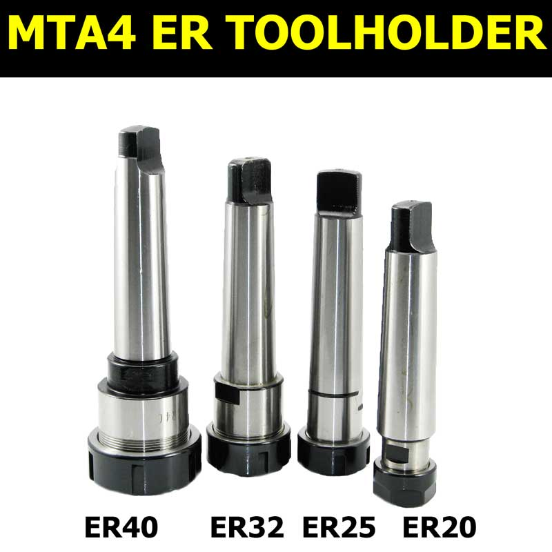 MT4 MTA4 mt1 mt2 mt3 er11 er20 mta2 er25 er32 lathe morse 2 3 4 taper drill collet chuck set milling holder turning toolholder стоимость