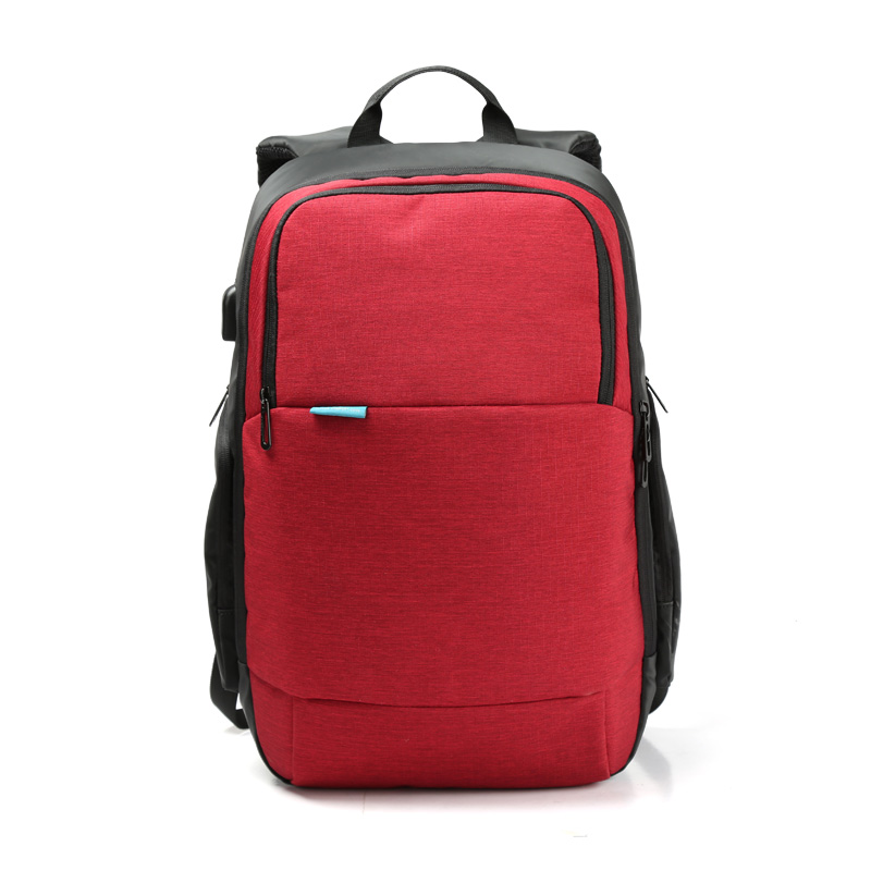 Ecoparty Anti-theft Notebook Computer Bag 15.6 inch for Business Men Women External USB Charge Laptop Backpack