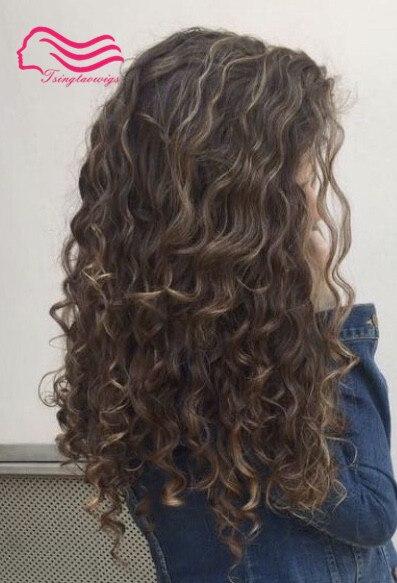 Custom made full wig unproecessed hair wig free shipping