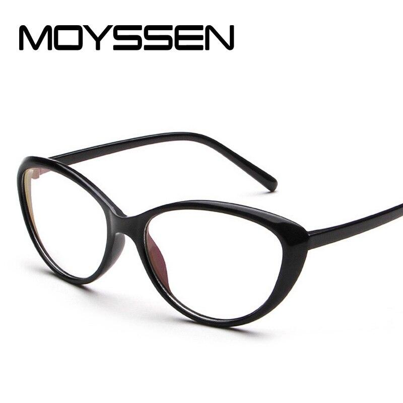 305e0b68447b MOYSSEN Women Retro Sexy Cat Eye Glasses Frame Female Vintage Optical  Myopia Eyeglasses Prescription Eyewear-in Eyewear Frames from Apparel  Accessories on ...