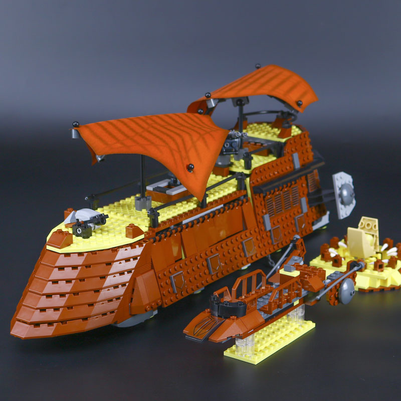 L Models Building toy Compatible with Lego L05090 821Pcs Sail Barge Blocks Toys Hobbies For Boys Girls Model Building Kits все цены