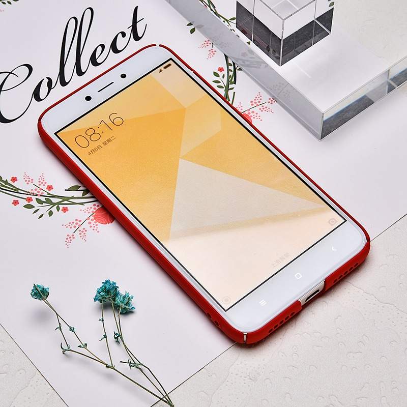 TOMKAS Cute PC Case For Xiaomi Redmi 4X Note 4X Mi A1 Cases Cover Back Patterned Matte Phone Case For Redmi 4X 5.0 Inch (5)