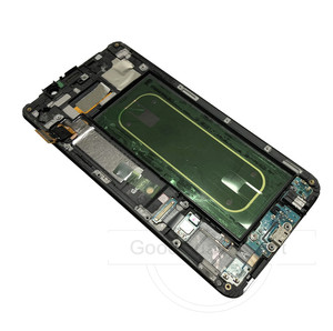 "Image 4 - 5.7 ""لسامسونج غالاكسي S6 حافة زائد LCD G928 G928F عرض شاشة تعمل باللمس + الإطار الجمعية قطع غيار سامسونج S6 حافة زائد LCD"