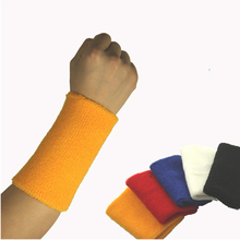 Sweatbands weightlifting pulseira wristbands brace wrist tennis guard gym support protector