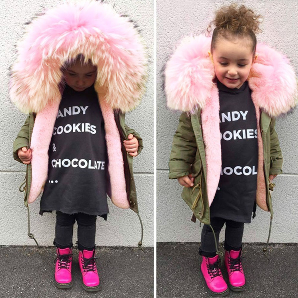 ARLONEET Autumn Winter kids Baby Cotton Coat Jacket 2019 Hot Army Green Girls Boys Warm Hooded Outwear Regular Winter Clothes 2018 autumn and winter boys and girls jacket baby winter thick warm cotton clothes baby hooded quilted jacket