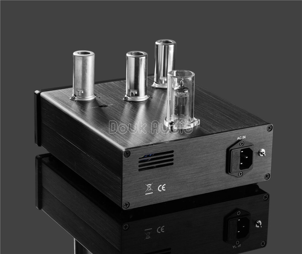 Vacuum Tube Phono Stage RIAA MM Turntable Phonograph Preamplifier Stereo Pre-Amp