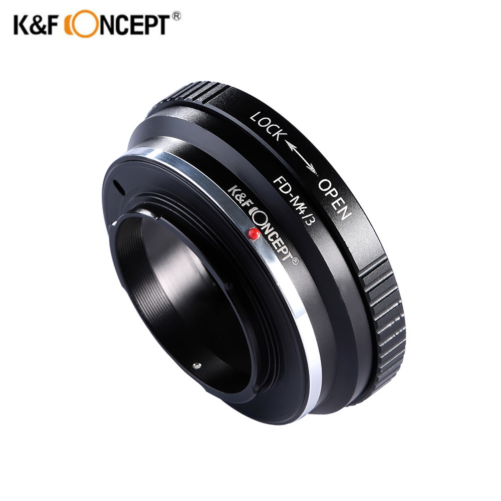 K&F CONCEPT Lens Adapter Ring For Canon FD Lens To Micro 4/3 M4/3 M43 Mount Camera Panasonc GF3 GF5 GF6 GX1 GX2K&F CONCEPT Lens Adapter Ring For Canon FD Lens To Micro 4/3 M4/3 M43 Mount Camera Panasonc GF3 GF5 GF6 GX1 GX2
