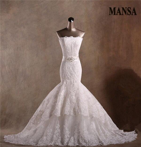 Buy mansa real sample elegant mermaid for True mermaid wedding dresses