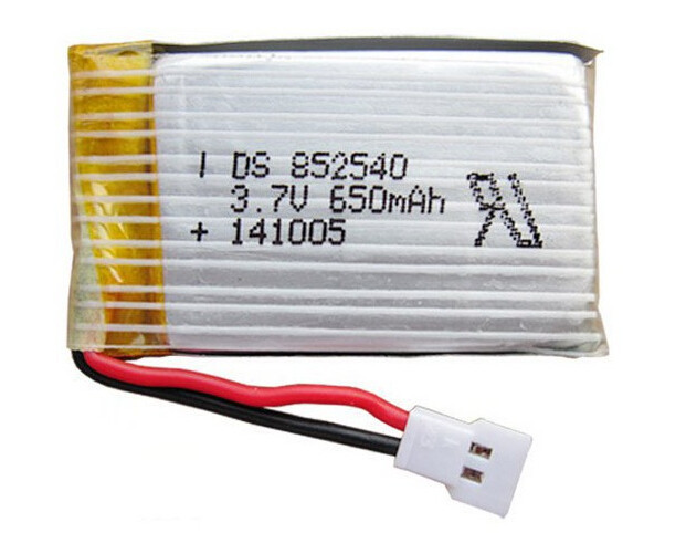 10pcs/lot <font><b>3.7V</b></font> 650mAh <font><b>Lipo</b></font> <font><b>Battery</b></font> for Syma X5C X5 /syma x5c Upgraded 650mAh <font><b>battery</b></font> mayar post image