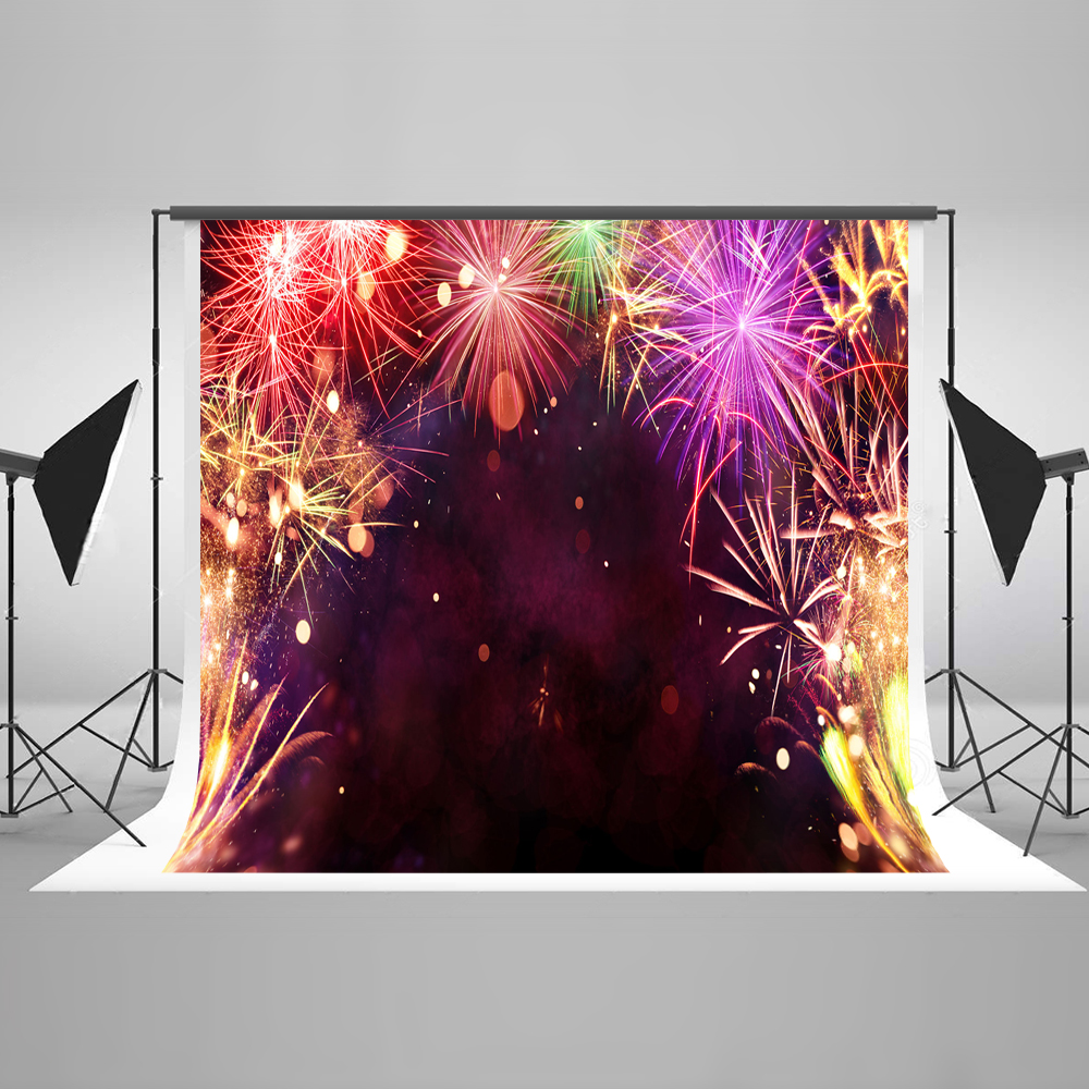 Kate Happy New Year Photo Background Photography Backdrop Firecracker Backgrounds For Photo Studio Cotton Washable Backdrop kate photo background scenery