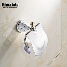 Bad-accessoires diamomd Toilettenpapierhalter Papierhalter, Papierrollenhalter, Messing-Bad Zubehör Produkte MC6726