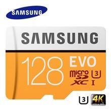Karta pamięci SAMSUNG EVO 256GB 128G 64GB karta Micro SD Class10 4K Ultra HD karta MicroSD C10 UHS I Trans Flash do Samsung Galaxy S8 S7
