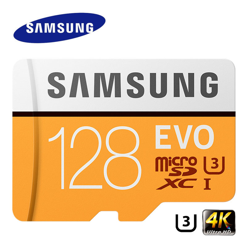 SAMSUNG Memory Card EVO 256GB 128G 64GB Micro SD Class10 4K Ultra HD MicroSD Card C10 UHS-I Trans Flash For Samsung Galaxy S8 S7