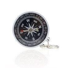 Кнопка выживания в Северной навигации, компас, портативный мини точный компас, практичный гид для кемпинга, походов, инструмент для выживания