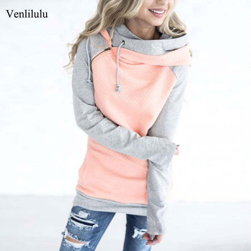 Autumn Winter Hoodie Sweatshirt Women Warm Hooded Sweatshirt Female Hoodies Women Hoody Ladies Plus Size Thicken Sweatshirt Pink(China)