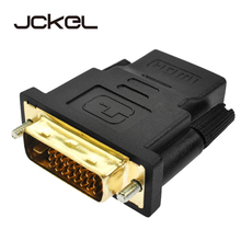 JCKEL 1080P HDMI to DVI 24+1 Adapter Cable Female to Male Switcher Video Converter for PC Computer PS3 Projector TV Box HDTV TV bikkembergs низкие кеды и кроссовки
