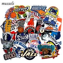 32pcs/Lot Brand Graffiti Basketball Team Club Logo Stickers Guitar Skateboard Wa
