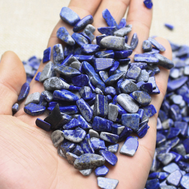 Natural Blue Stone Garden Pebbles Pack